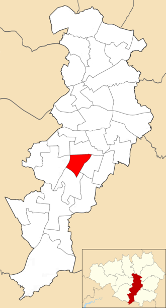 Old Moat (ward) - Old Moat electoral ward within Manchester City Council