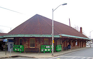 Tarrytown (Metro-North station) - 1925 station building.