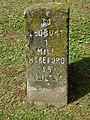 Old milestone, Ledbury - geograph.org.uk - 1452324.jpg