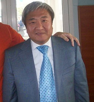 Koryo-saram - Oleksandr Sin, a mayor of Zaporizhia