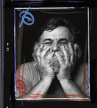 A. R. Penck - A. R. Penck, Nuremberg 1994, portrait by Oliver Mark