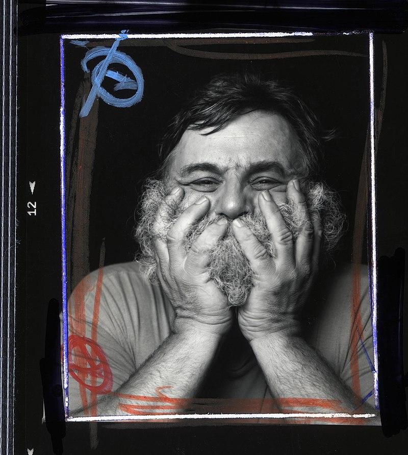 Oliver Mark - A. R. Penck, Nürnberg 1994.jpg