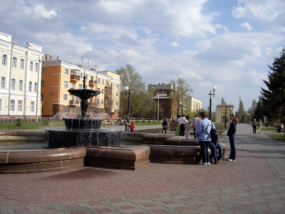 Omsk Tarskaya street