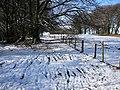 On the Rhymney Valley Ridgeway Footpath southwest of Rudry. - geograph.org.uk - 1728714.jpg