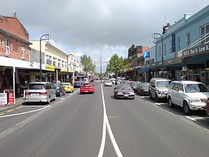 Onehunga - Onehunga Mall, the main street of the Onehunga town centre.