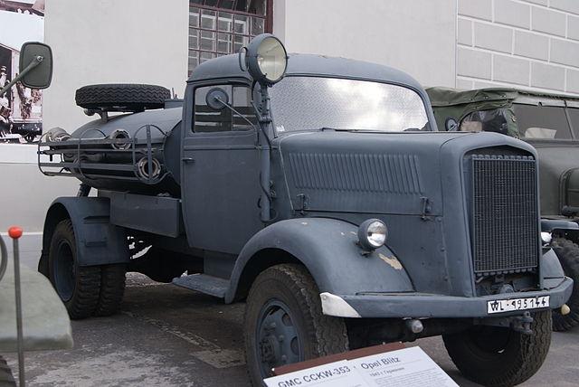 Blitz fire truck