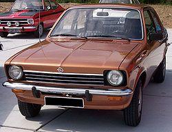 Opel Kadett Limousine (1973–1977)