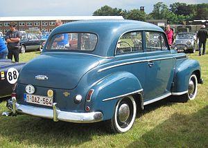 Opel Olympia - Opel Olympia Berline (saloon/sedan) 1952