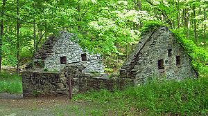 Laflin & Rand Powder Company - Image: Orange Powder Mill ruins