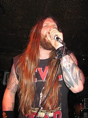Orange Goblin - Singer Ben Ward, performing in 2006.