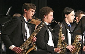 Flower Mound High School - The FMHS band in 2005