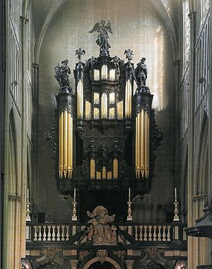 St. Salvator's Cathedral - Organ of Saint-Salvator Cathedral