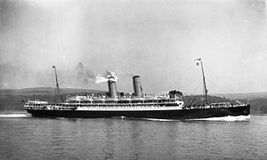 Orient Steam Navigation Company - SS ''Otranto'' in 1909