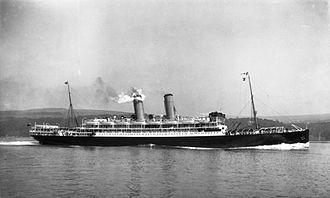 Orient Steam Navigation Company - SS Otranto in 1909