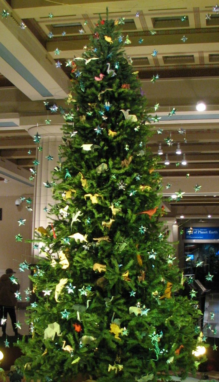 Origami Christmas Tree American Museum Of Natural History Nyxc