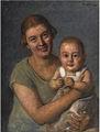 Oskar von Pistor - Mutter mit Kind 1926.jpg