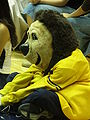 Oski at women's volleyball, SJSU at Cal 2009-09-12 3.JPG