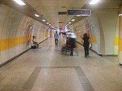 İstanbul metrosu, Osmanbey istasyonu girişi