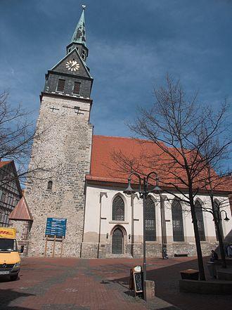 Osterode am Harz - St Aegidien church