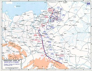 Second Battle of the Masurian Lakes A battle in 1915 during the First World War