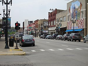 Ottawa, Illinois - Downtown Ottawa, Illinois in May 2008