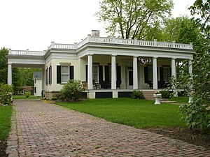 National Register of Historic Places listings in LaSalle County, Illinois - Image: Ottawa IL Fisher Nash Griggs House 1