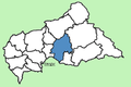 Ouaka Prefecture Central African Republic locator.png