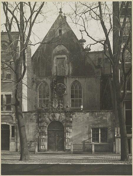 File:Overzicht westgevel kapel - Amsterdam - 20319692 - RCE.jpg