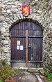 Pörtschach Leonsteiner Weg Burgruine Leonstein Burgtor 13042019 6430.jpg