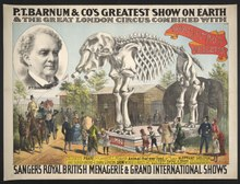 P.T. Barnum & Co.'s greatest show on earth & the great London circus combined with Sanger's Royal British menagerie & grand international shows LCCN2012645423.tif