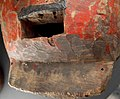 PC047729j Chin holes detail red Polychrome helmet mask, Sukumu mask, Sukumu people, Tanzania (11377298104).jpg