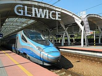 New Pendolino - PKP ED250 at Gliwice
