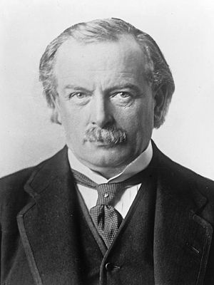 1916 in the United Kingdom - Lloyd George in 1916