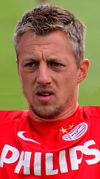 PSV Eindhoven, Teamcamp Bad Erlach, July 2014 (147) (crop).jpg