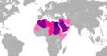 Países por número de hablantes de árabe.PNG