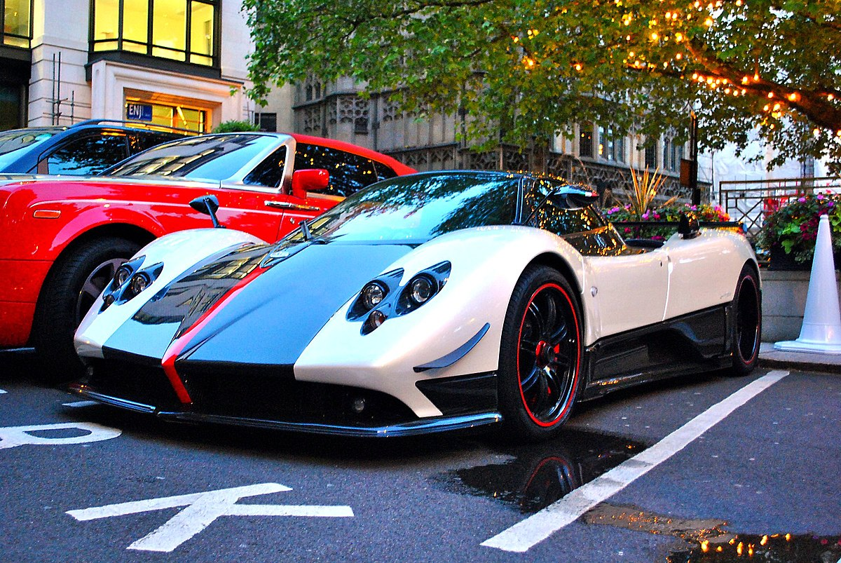 pagani zonda cinque wikipedia. Black Bedroom Furniture Sets. Home Design Ideas