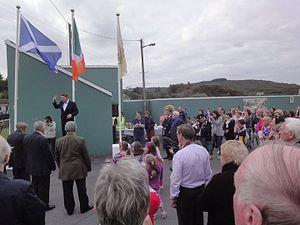 Seán Ó Riada - Páidí Ó Lionáird opening Féile na Laoch