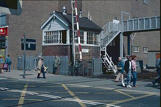 Paignton railway station - Paignton North Signal Box