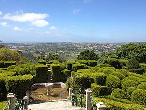 Seteais Palace - View towards the garden