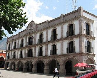 Temascalcingo - Image: Pal Municipal Temas MX