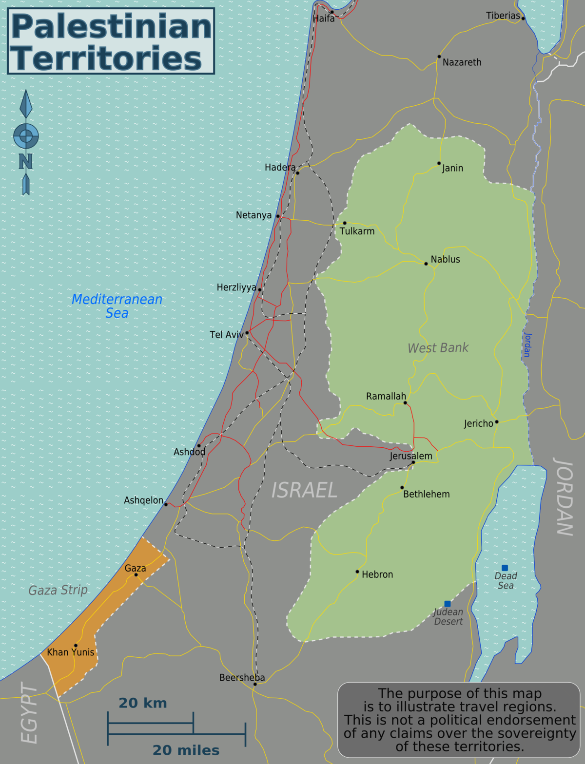 Palestinian territories Travel guide at Wikivoyage
