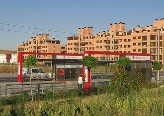 Palas del Rey (Madrid Metro) - Image: Palas del Rey ML