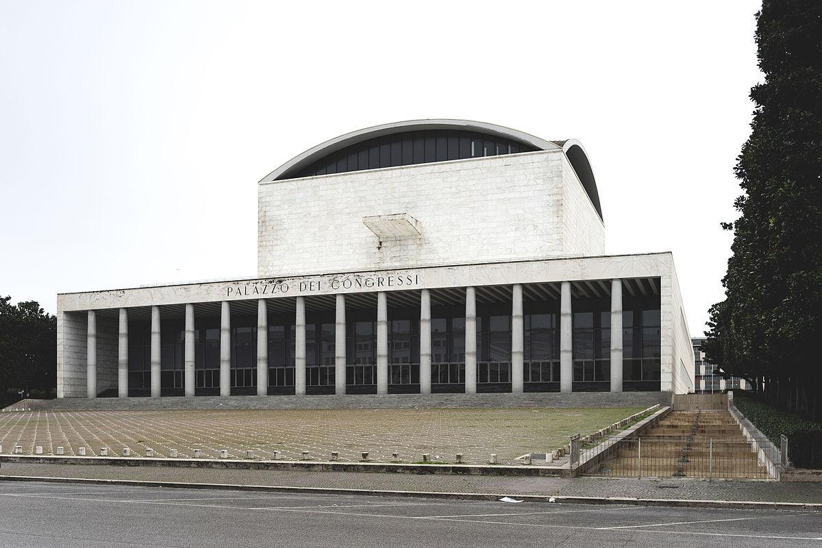 Palazzo dei congressi wikipedia - Architetto palazzo congressi roma ...