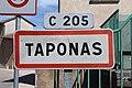 Panneau entrée Taponas 1.jpg