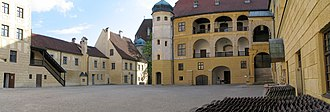 Friedrich Sustris - Trausnitz Castle, Renaissance Court