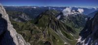 Panorama verso nord dalla cima del Monte Coglians.png