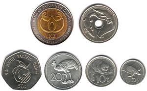 Kina coins