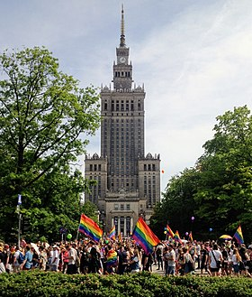 Image illustrative de l'article Droits LGBT en Pologne
