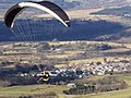 Paraglide off the mountain - geograph.org.uk - 1707898.jpg