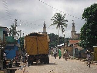 Commune and city in Borgou Department, Benin